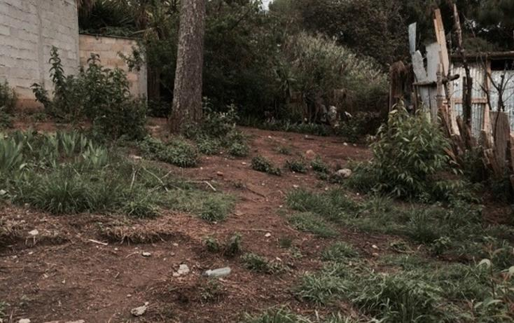 Foto de terreno habitacional en venta en avenida la frontera , fátima, san cristóbal de las casas, chiapas, 1526081 No. 01