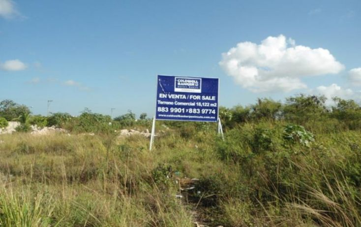 Foto de terreno comercial en venta en avenida lopez portillo, abc, benito juárez, quintana roo, 1702272 no 03