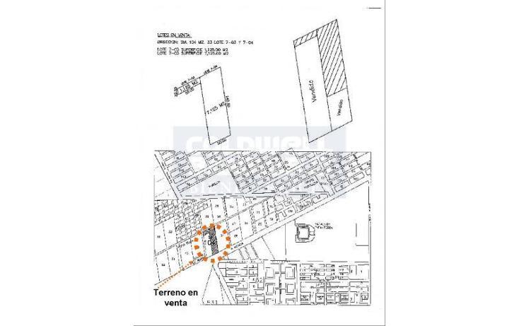 Foto de terreno habitacional en venta en avenida lopez portillo, smza 104, manzana 33, lte. 7-04 , cancún centro, benito juárez, quintana roo, 1753832 No. 05