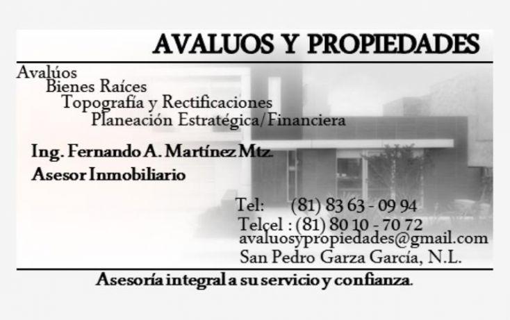 Foto de terreno comercial en venta en avenida miguel aleman 520, arboledas del oriente, guadalupe, nuevo león, 1696992 no 06