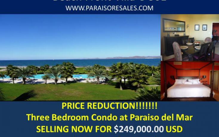 Foto de departamento en venta en avenida palmeras, paraíso del mar, la paz, baja california sur, 1359971 no 01