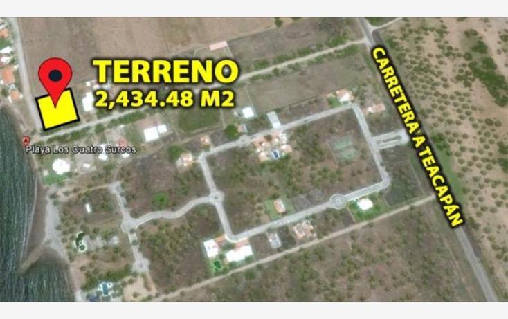 Foto de terreno habitacional en venta en avenida pargo diego y cuatro surcos 17, teacapan, escuinapa, sinaloa, 1727130 No. 02