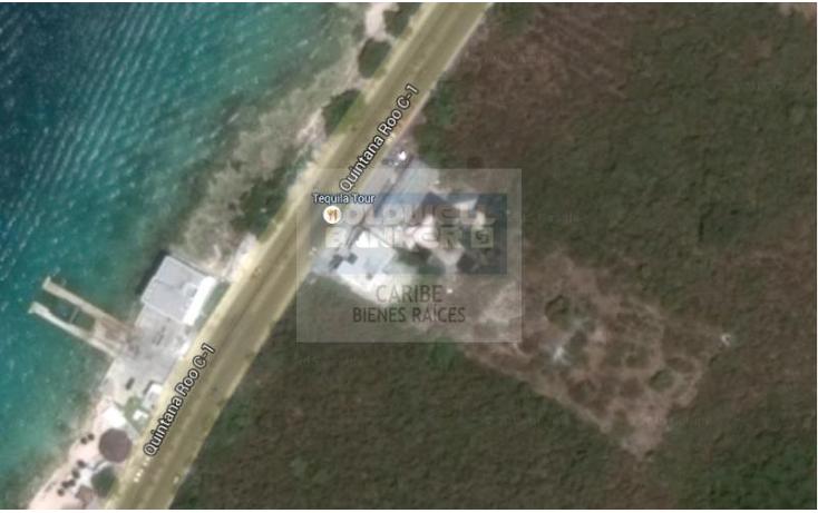 Foto de terreno comercial en venta en  , zona hotelera sur, cozumel, quintana roo, 1844386 No. 01