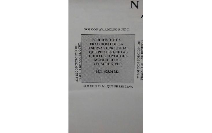 Foto de terreno comercial en renta en avenida ruiz cortines , el coyol, veracruz, veracruz de ignacio de la llave, 1009321 No. 03