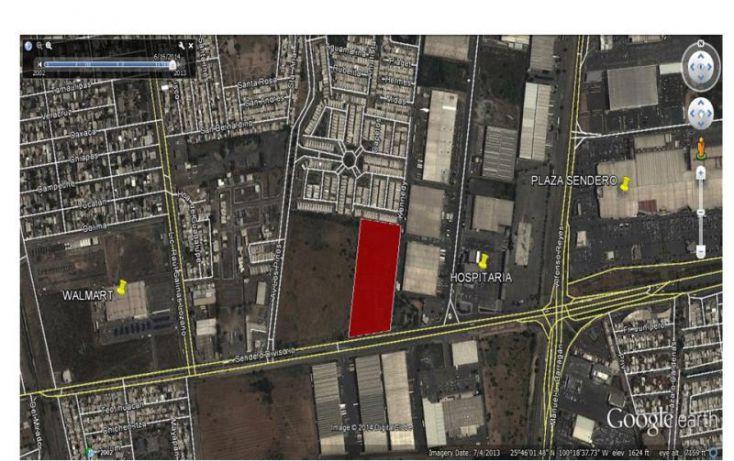 Foto de terreno comercial en venta en avenida sendero entre av neus y av los pinos 1, california 2do sector, general escobedo, nuevo león, 1377707 no 02