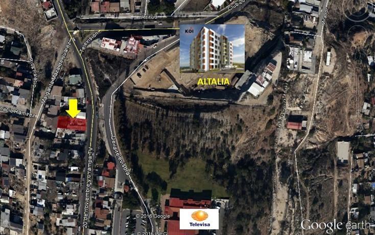 Foto de terreno habitacional en venta en avenida television , juárez, tijuana, baja california, 447720 No. 02