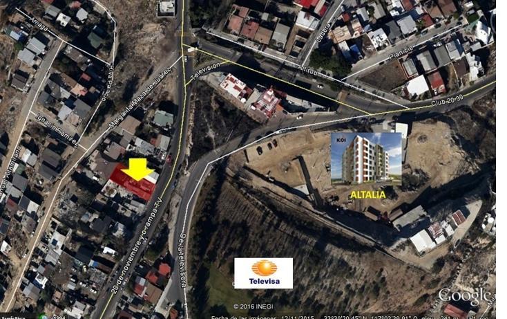 Foto de terreno habitacional en venta en avenida television , juárez, tijuana, baja california, 447720 No. 03