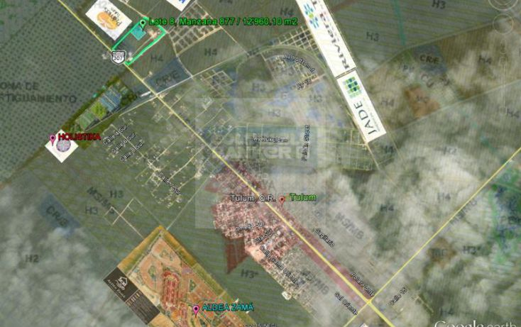 Foto de terreno habitacional en venta en avenida tulum 913, tulum centro, tulum, quintana roo, 784953 no 03