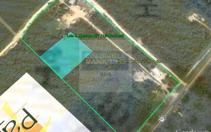 Foto de terreno habitacional en venta en avenida tulum 913, tulum centro, tulum, quintana roo, 784953 no 05