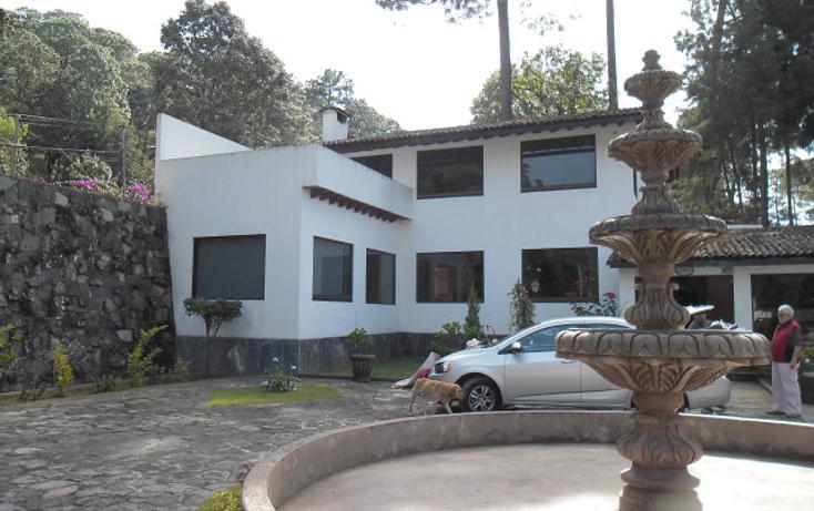 Foto de casa en venta en avenida vega del rio , avándaro, valle de bravo, méxico, 724157 No. 01