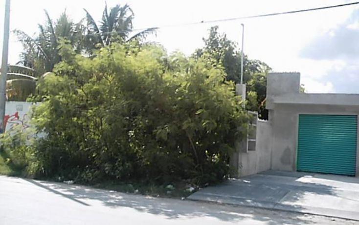 Foto de terreno comercial en venta en aveninos heroes, ixchel, benito juárez, quintana roo, 1808114 no 01