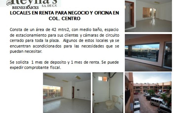 Foto de oficina en renta en  , aviación, carmen, campeche, 1198133 No. 01