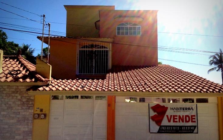 Foto de casa en venta en  , azteca, tuxpan, veracruz de ignacio de la llave, 1195805 No. 01