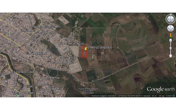 Foto de terreno habitacional en venta en  , aztl?n el verde, tepic, nayarit, 1225573 No. 13