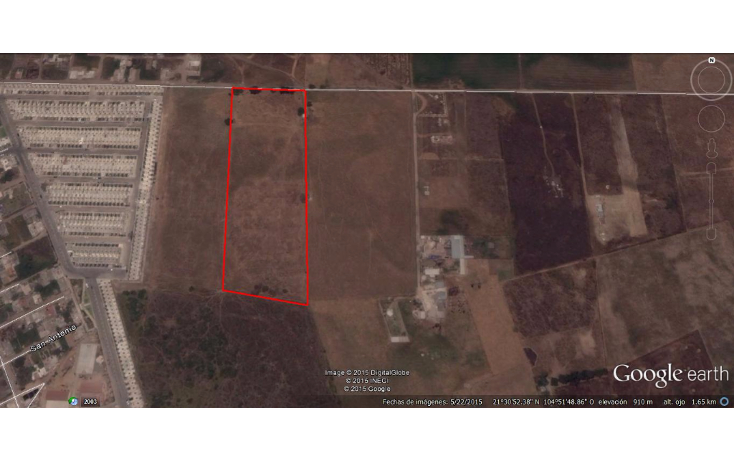 Foto de terreno habitacional en venta en  , aztl?n el verde, tepic, nayarit, 1225573 No. 14