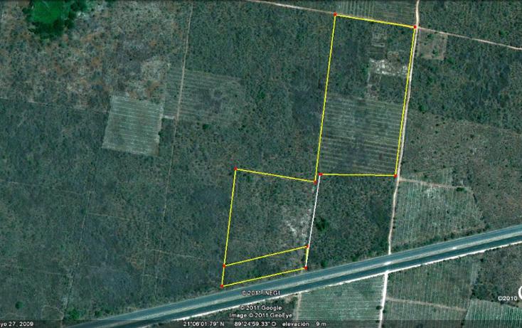 Foto de terreno comercial en venta en  , baca, baca, yucatán, 1080561 No. 01