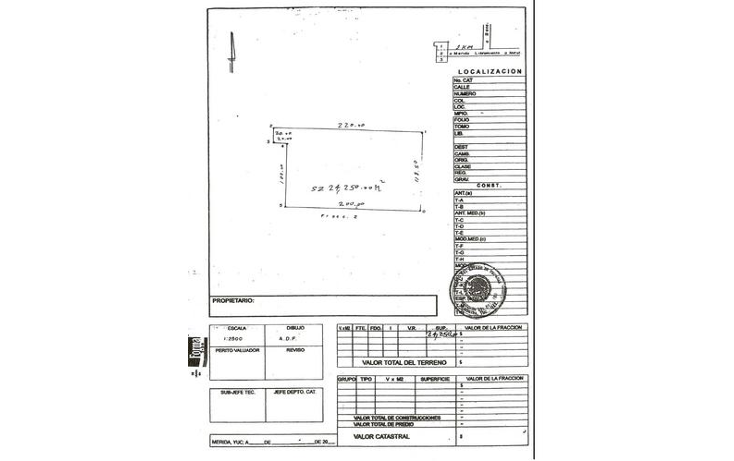 Foto de terreno habitacional en venta en  , baca, baca, yucatán, 1088429 No. 03