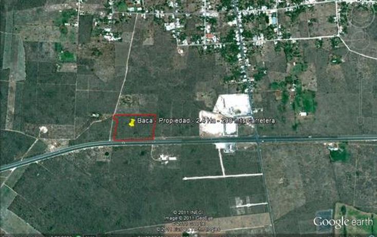Foto de terreno habitacional en venta en  , baca, baca, yucatán, 1088429 No. 05