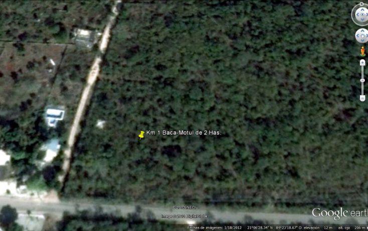 Foto de terreno habitacional en venta en, baca, baca, yucatán, 1451417 no 01