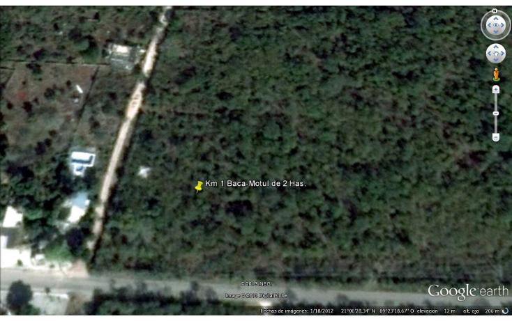 Foto de terreno habitacional en venta en  , baca, baca, yucatán, 1451417 No. 01