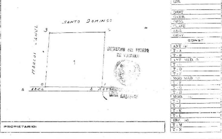 Foto de terreno habitacional en venta en, baca, baca, yucatán, 1451417 no 03
