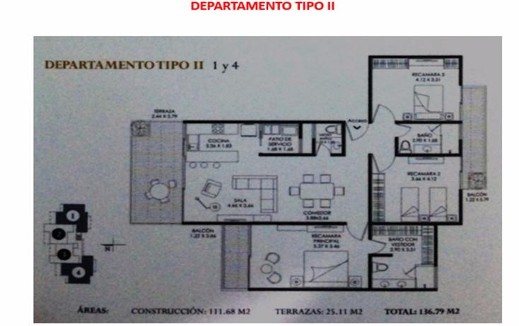 Foto de departamento en venta en  , balcones de vista real, corregidora, querétaro, 1256981 No. 01