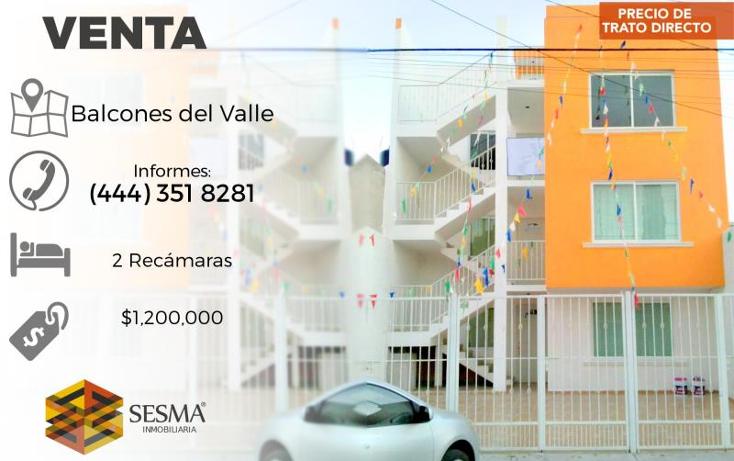 Foto de departamento en venta en  , balcones del valle, san luis potos?, san luis potos?, 1745417 No. 01