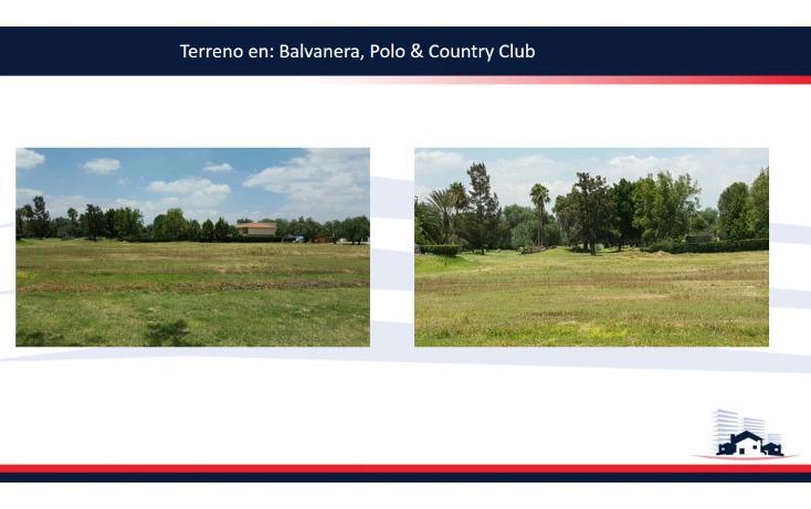 Foto de terreno habitacional en venta en  , balvanera polo y country club, corregidora, querétaro, 1342919 No. 01