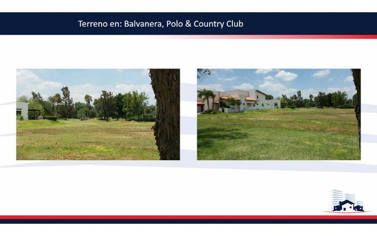 Foto de terreno habitacional en venta en  , balvanera polo y country club, corregidora, querétaro, 1342919 No. 02