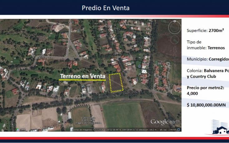 Foto de terreno habitacional en venta en, balvanera polo y country club, corregidora, querétaro, 1342919 no 04