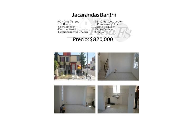 Foto de casa en venta en  , banthí, san juan del río, querétaro, 1759532 No. 01