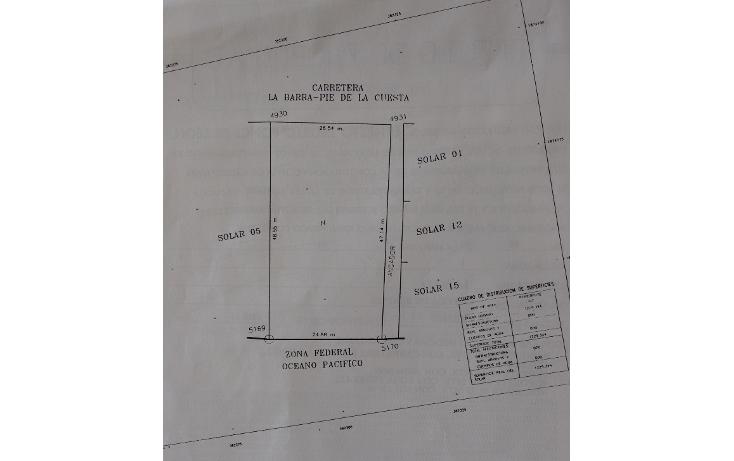 Foto de terreno habitacional en venta en  , barra de coyuca, coyuca de ben?tez, guerrero, 1207193 No. 03