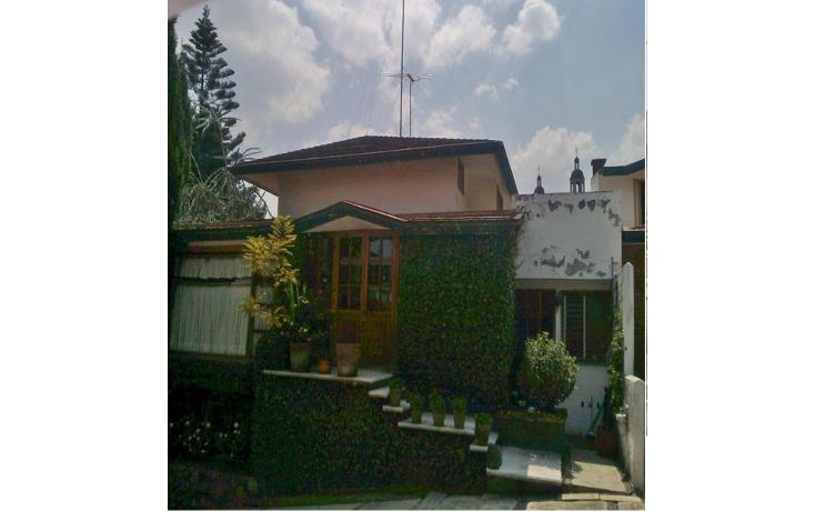 Foto de casa en venta en  , barranca seca, la magdalena contreras, distrito federal, 987769 No. 01