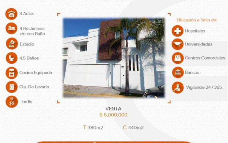 Foto de casa en venta en, barrio de la luz, puebla, puebla, 1022299 no 01