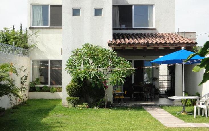 Foto de casa en venta en barrio de los arcos 20, las fincas, jiutepec, morelos, 1532568 No. 01