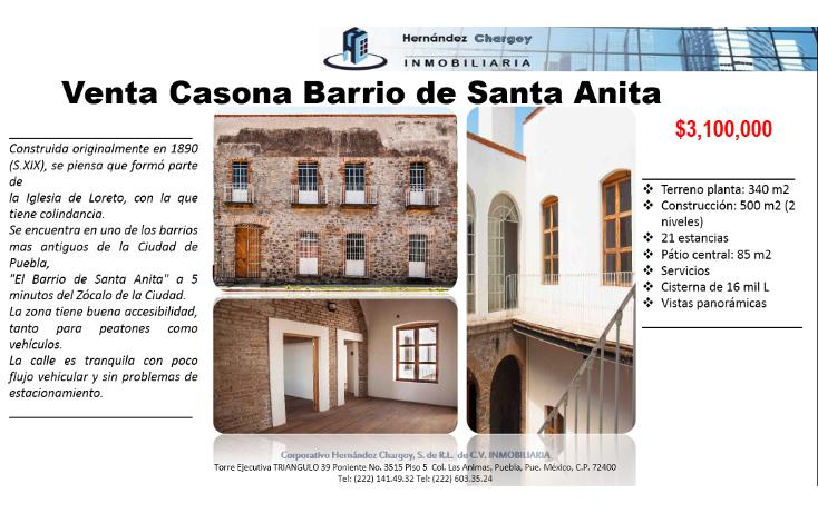 Foto de casa en venta en  , barrio de santa anita, puebla, puebla, 1197623 No. 02