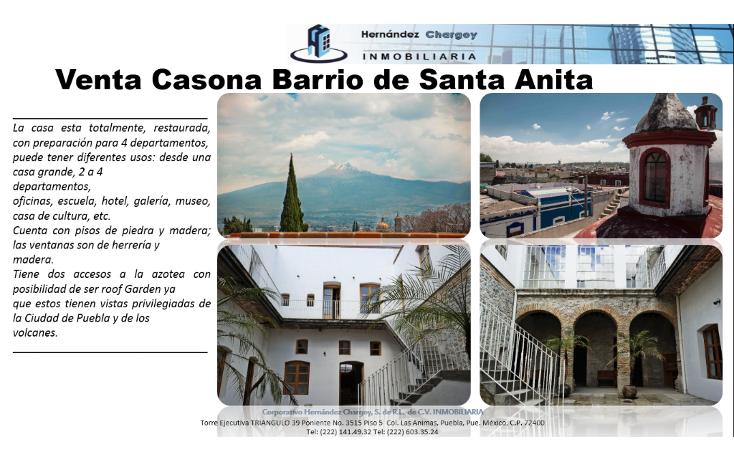 Foto de casa en venta en  , barrio de santa anita, puebla, puebla, 1197623 No. 03