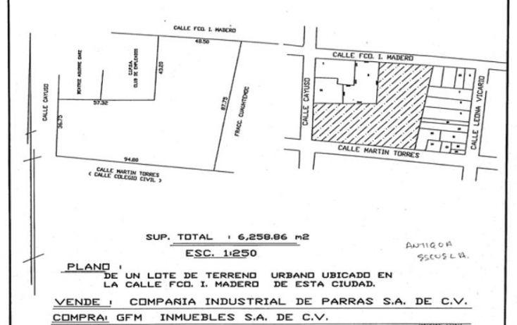 Foto de edificio en venta en, barrio del sombreretillo, parras, coahuila de zaragoza, 1729508 no 15