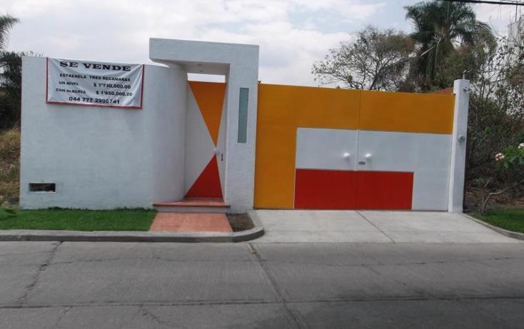 Foto de casa en venta en barrio del sumidero 72, las fincas, jiutepec, morelos, 471624 No. 01