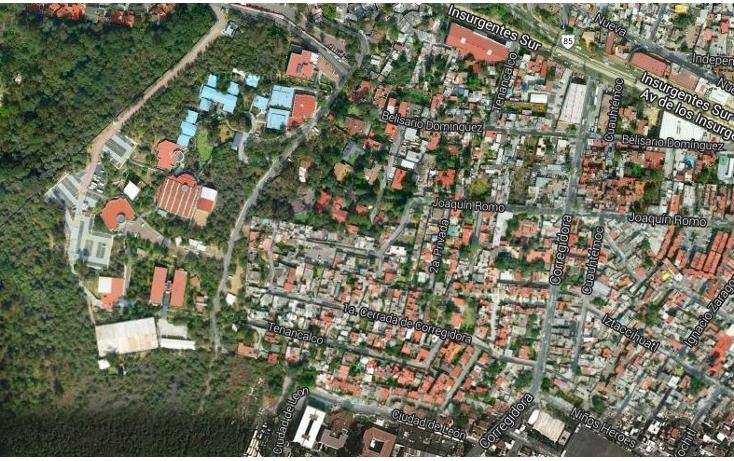 Foto de terreno habitacional en venta en  , barrio la lonja, tlalpan, distrito federal, 1255075 No. 01