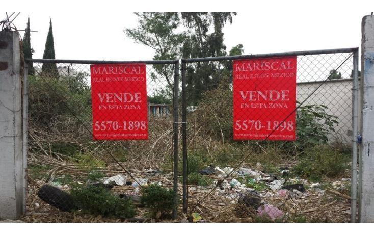 Foto de terreno habitacional en venta en  , barrio pocitos, xochimilco, distrito federal, 464521 No. 01