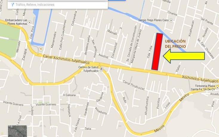 Foto de terreno habitacional en venta en  , barrio pocitos, xochimilco, distrito federal, 464521 No. 02