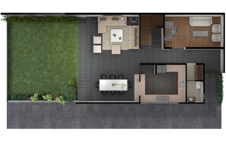 Foto de casa en condominio en venta en  , barrio san lucas, coyoacán, distrito federal, 1354801 No. 03