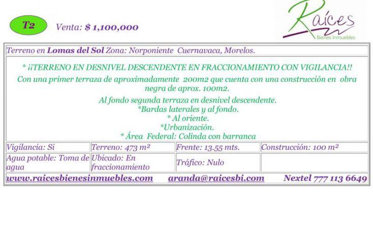 Foto de terreno habitacional en venta en , bellavista, cuernavaca, morelos, 620813 no 02