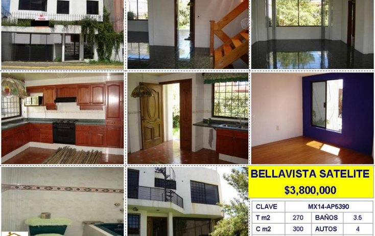 Foto de casa en venta en  , bellavista, ecatepec de morelos, m?xico, 427499 No. 01