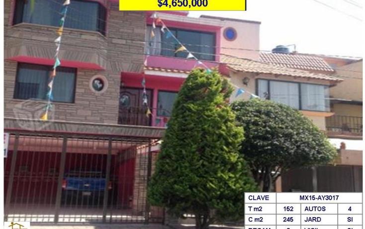 Foto de casa en venta en  , bellavista puente de vigas, tlalnepantla de baz, m?xico, 782343 No. 01