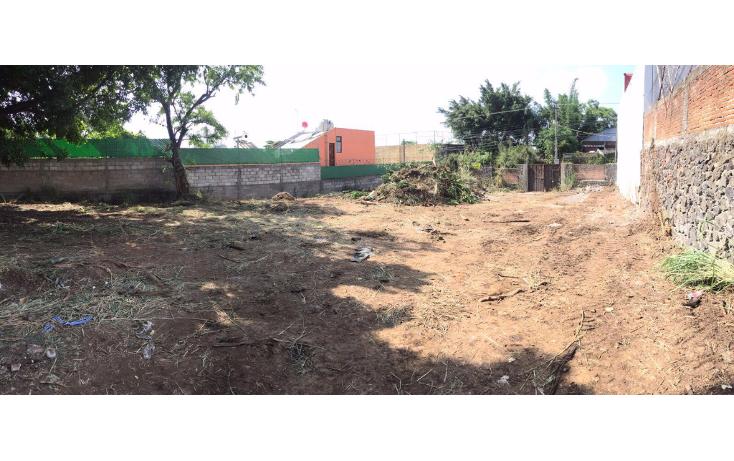 Foto de terreno habitacional en venta en  , bello horizonte, cuernavaca, morelos, 1620702 No. 01