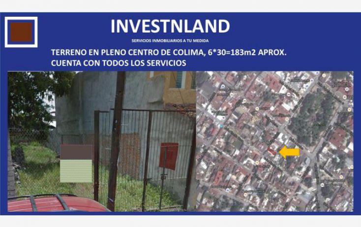 Foto de terreno habitacional en venta en benito juarez 153, almendros residencial, manzanillo, colima, 1806556 no 01