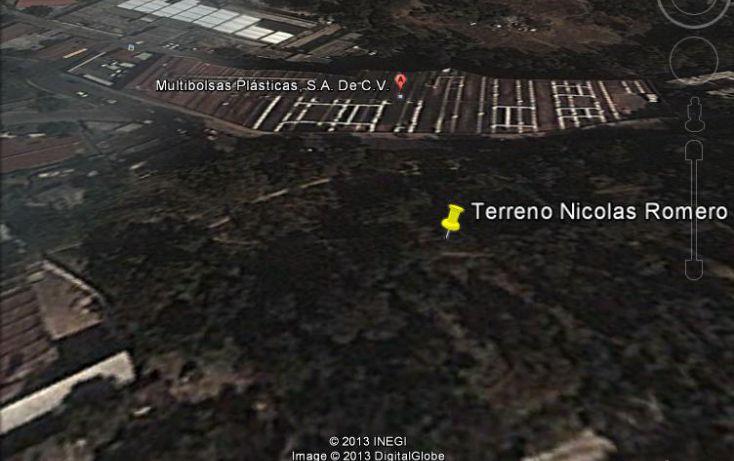 Foto de terreno habitacional en venta en, benito juárez 1a sección cabecera municipal, nicolás romero, estado de méxico, 1117247 no 01