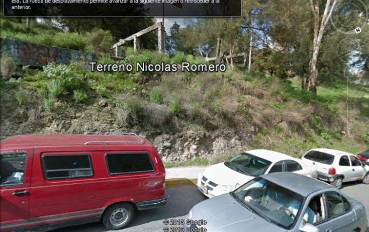 Foto de terreno habitacional en venta en, benito juárez 1a sección cabecera municipal, nicolás romero, estado de méxico, 1117247 no 02